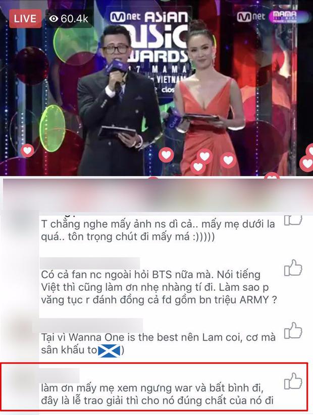 Tranh cãi quanh việc một số khán giả la ó, làm dấu hiệu phản đối khi Chi Pu hát tiếng Hàn trên sân khấu MAMA - Ảnh 6.