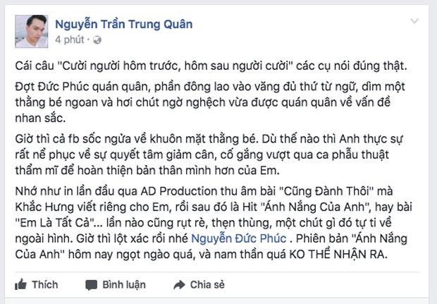 Sao Việt ngỡ ngàng trước sự thay đổi đến khó tin của Đức Phúc sau thẩm mỹ - Ảnh 8.