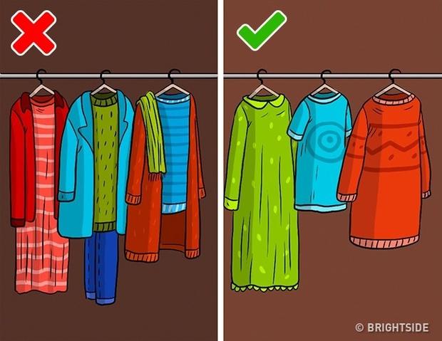Những kiểu cất quần áo ai cũng làm nhưng hóa ra sai bét - Ảnh 7.
