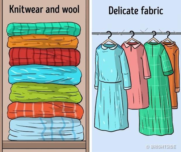 Những kiểu cất quần áo ai cũng làm nhưng hóa ra sai bét - Ảnh 9.