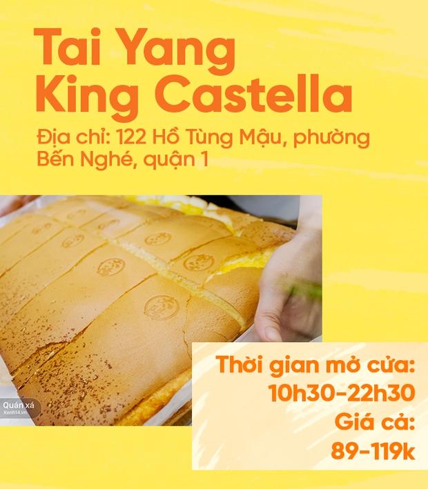 Bánh bông lan phô mai - món lạ quen thuộc đang đại náo phố đi bộ Nguyễn Huệ - Ảnh 9.
