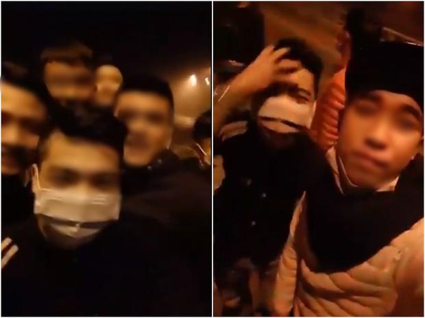 Clip: Mang hung khí lên đường cao tốc chặn xin tiền rồi livestream khoe Facebook, nhóm nam thanh niên bị chỉ trích dữ dội - Ảnh 3.
