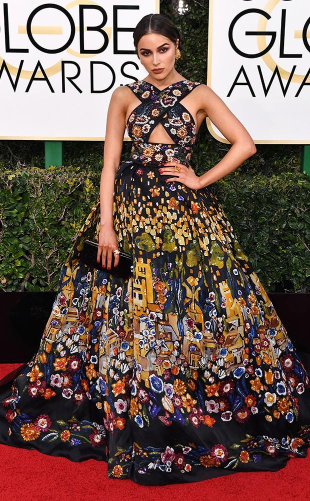 Thảm đỏ Quả Cầu Vàng 2017: Lily Collins đẹp như công chúa, đánh bật dàn Hoa hậu, mỹ nhân Hollywood - Ảnh 6.