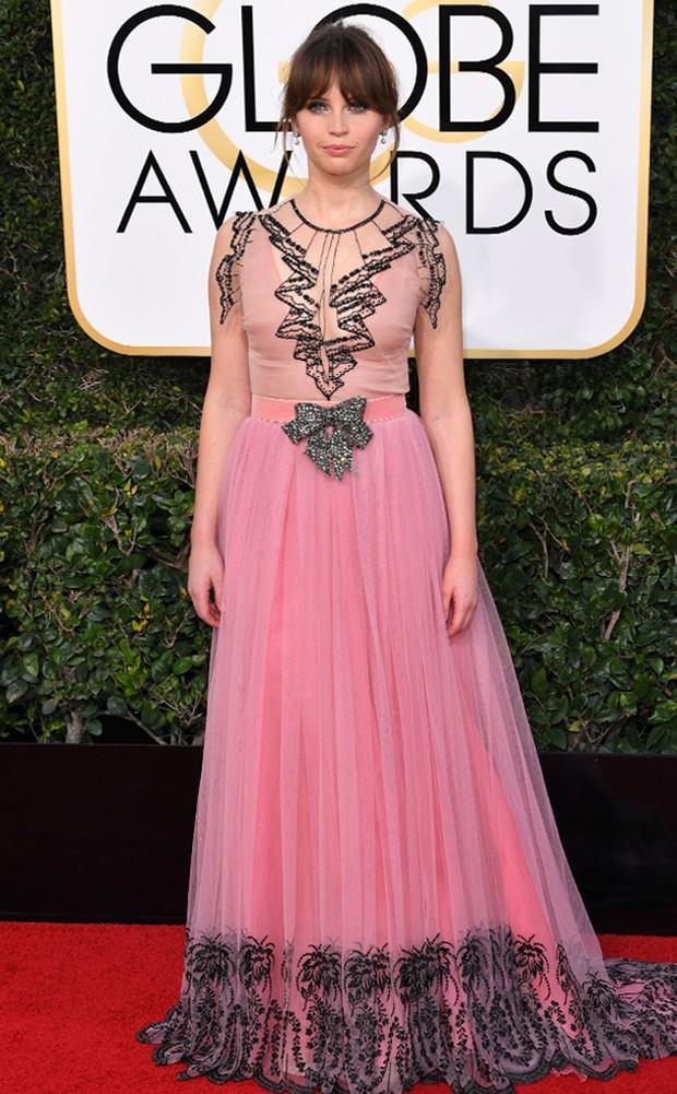Thảm đỏ Quả Cầu Vàng 2017: Lily Collins đẹp như công chúa, đánh bật dàn Hoa hậu, mỹ nhân Hollywood - Ảnh 22.