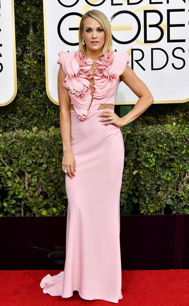 Thảm đỏ Quả Cầu Vàng 2017: Lily Collins đẹp như công chúa, đánh bật dàn Hoa hậu, mỹ nhân Hollywood - Ảnh 18.