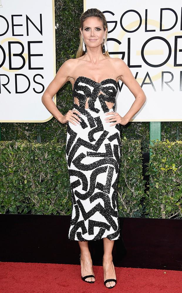 Thảm đỏ Quả Cầu Vàng 2017: Lily Collins đẹp như công chúa, đánh bật dàn Hoa hậu, mỹ nhân Hollywood - Ảnh 29.