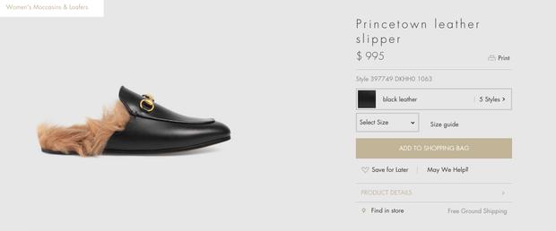 Gucci và 3 đôi giày khiến cả Hạ Vi lẫn Hà Hồ đều mê mệt không dứt! - Ảnh 18.