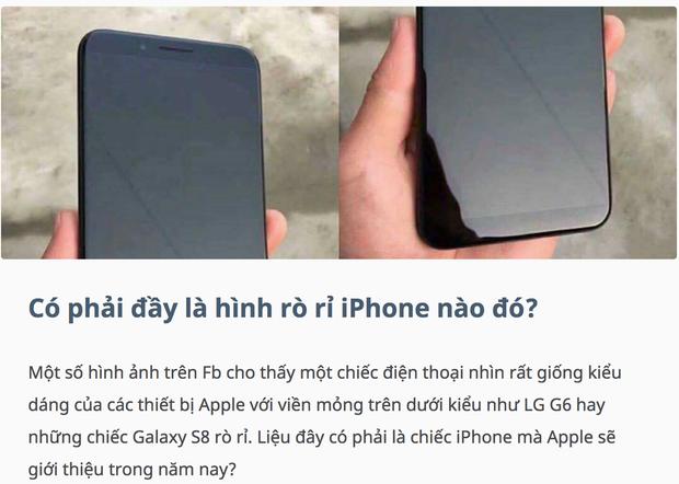 Cư dân mạng đang nháo nhào chia sẻ hình ảnh iPhone 8, nhưng hoá ra đó chỉ là điện thoại Trung Quốc - Ảnh 2.
