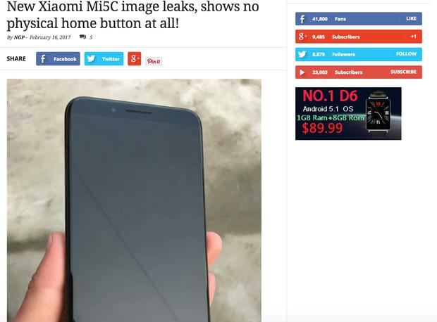 Cư dân mạng đang nháo nhào chia sẻ hình ảnh iPhone 8, nhưng hoá ra đó chỉ là điện thoại Trung Quốc - Ảnh 5.