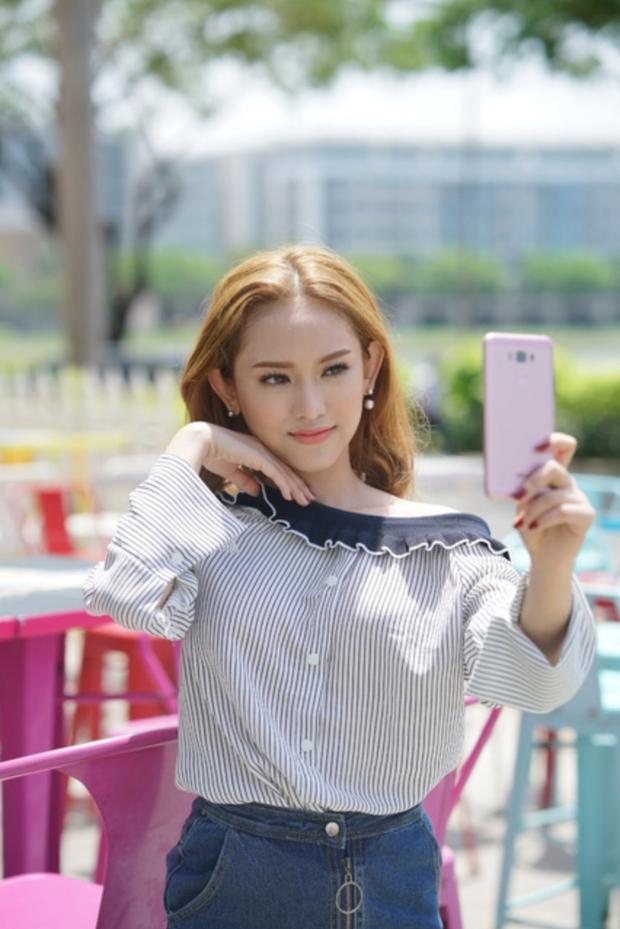 Sau The Face, Thuý Vi lộ nhan sắc mộc năng động cùng ZenFone 3 Max 5.5 - Ảnh 5.