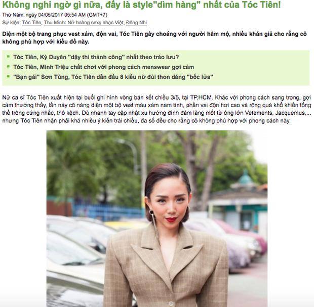 Thời trang lạ bị vùi dập tả tơi của Tóc Tiên: Chọn con tim hay nghe lý trí? - Ảnh 4.