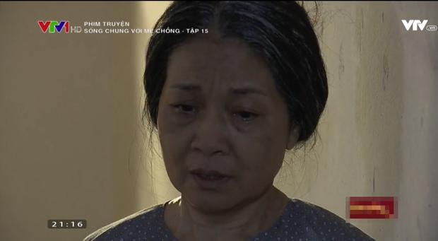 Sống chung với mẹ chồng tập 15: Trang đuổi mẹ chồng về quê và cái kết hú hồn cho cô con dâu bướng bỉnh - Ảnh 8.