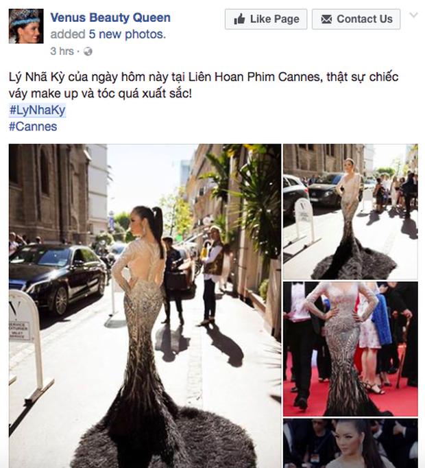 Chiếc đầm đẹp nhất của Lý Nhã Kỳ tại Cannes: rẻ hơn hàng hiệu quốc tế rất nhiều! - Ảnh 1.