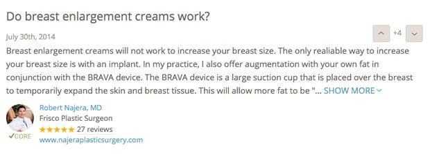 Kem nở ngực đang hot ầm ầm trên mạng có thật sự có tác dụng tăng size vòng 1? - Ảnh 7.