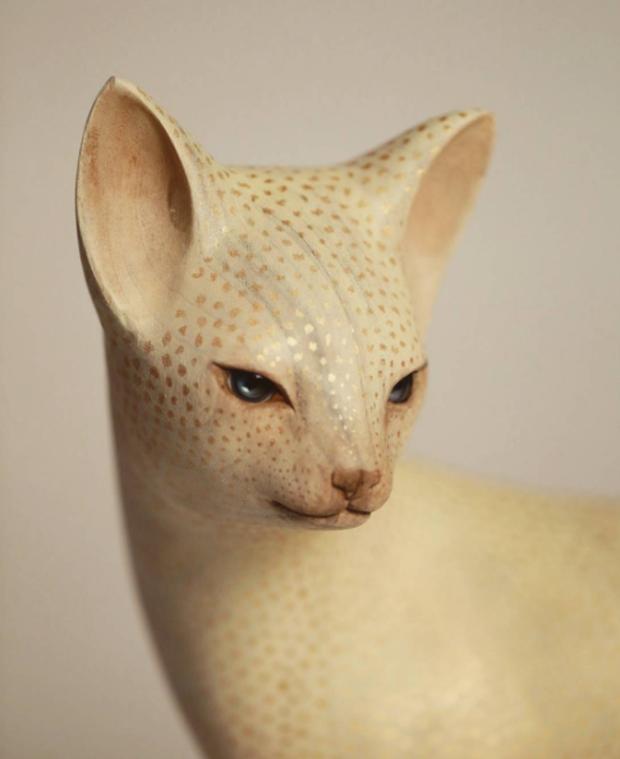 Bộ sưu tập động vật xứ thần tiên của nghệ nhân khắc gỗ Nhật Bản - Ảnh 3.