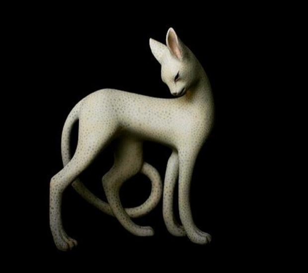Bộ sưu tập động vật xứ thần tiên của nghệ nhân khắc gỗ Nhật Bản - Ảnh 14.