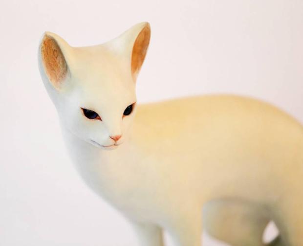 Bộ sưu tập động vật xứ thần tiên của nghệ nhân khắc gỗ Nhật Bản - Ảnh 8.