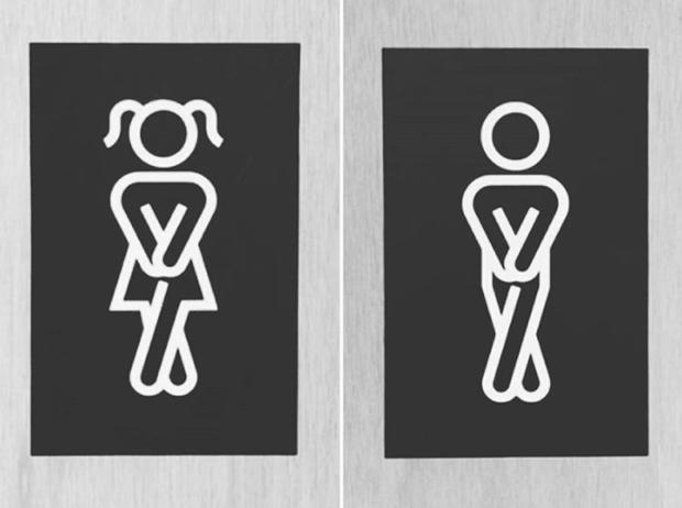 16 ý tưởng thiết kế biển báo nhà vệ sinh công cộng sáng tạo và bá đạo - Ảnh 27.