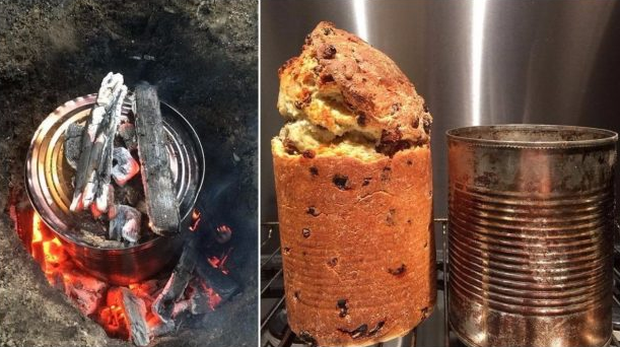 Không đùa đâu, bạn hoàn toàn có thể làm bánh mà chẳng cần lò nướng hay khuôn bánh nhé - Ảnh 7.