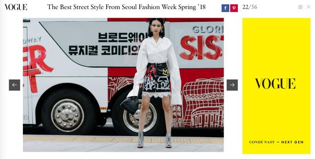 Châu Bùi, Phí Phương Anh, Jolie Nguyễn dắt nhau vào list những người mặc đẹp nhất Seoul Fashion Week của tạp chí Vogue - Ảnh 1.