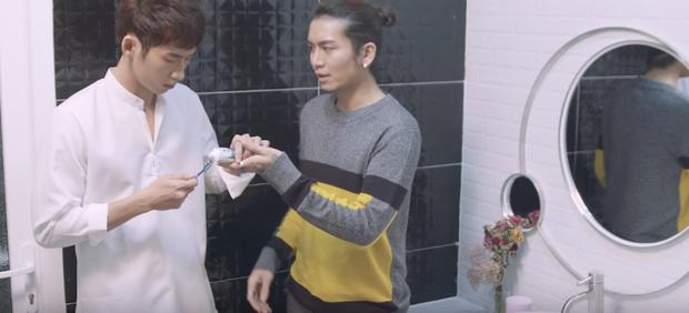 Thiên Ý tập 3: BB Trần lợi dụng sờ... mông người yêu Hari Won - Ảnh 3.