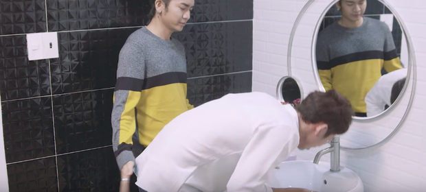 Thiên Ý tập 3: BB Trần lợi dụng sờ... mông người yêu Hari Won - Ảnh 2.