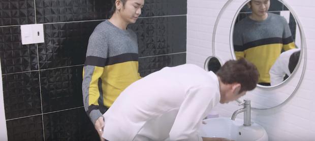 Thiên Ý tập 3: BB Trần lợi dụng sờ... mông người yêu Hari Won - Ảnh 1.