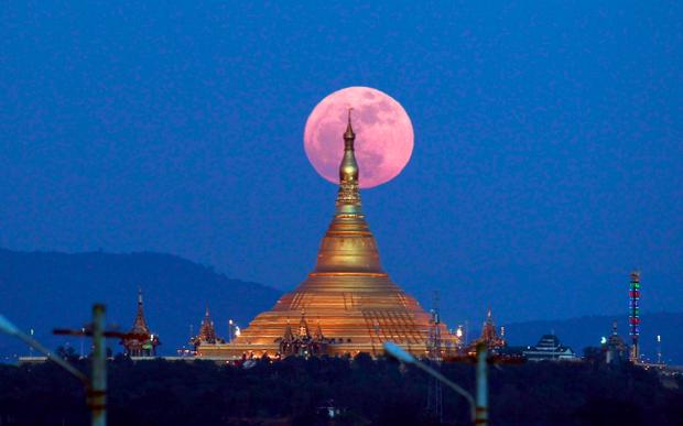 Lác mắt trước chùm ảnh siêu Mặt trăng trên bầu trời Việt Nam và thế giới - Ảnh 10.