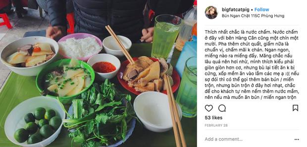 Bún ngan chặt Phùng Hưng: Mê mẩn món cổ nhừ nổi tiếng gần 20 năm ở Hà Nội - Ảnh 7.