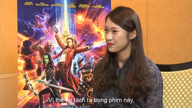 Không chỉ phỏng vấn trực tiếp, Khánh Vy còn tự tin rap dành tặng tài tử Hollywood Chris Pratt - Ảnh 6.