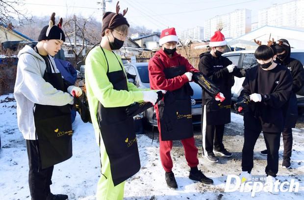 Sao Hàn và Thái đón Giáng Sinh: Wanna One, Big Bang mừng lễ trên sân khấu, Seventeen và NUEST bê than làm từ thiện - Ảnh 20.