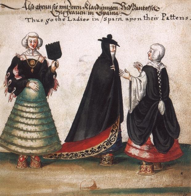 Những đôi giày cao tới 50cm: Chuẩn mực của cái đẹp phụ nữ thời Trung Đại - Ảnh 2.