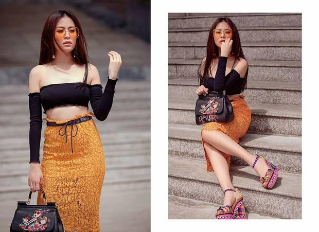 Hà Hồ - Thanh Hằng chỉ diện đồ bình dân cho street style mà đã át hết các đàn em - Ảnh 6.