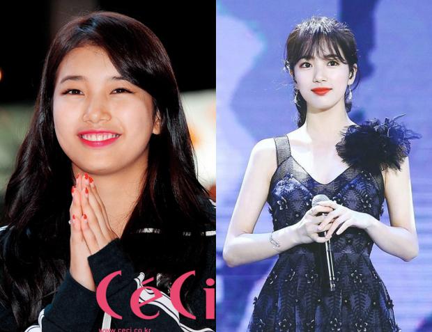 Đôi tai của Suzy trước và sau khi giảm cân trở thành chủ đề bàn tán sôi nổi - Ảnh 4.