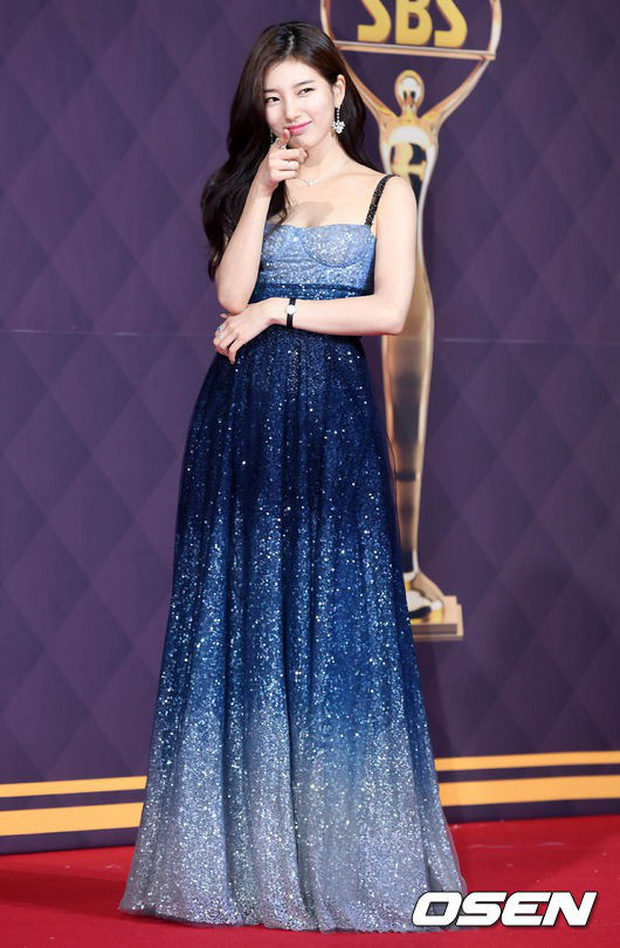 Thảm đỏ SBS Drama Awards: Nữ thần Suzy cân cả Yuri và dàn mỹ nhân hàng đầu Kpop, cặp vợ chồng Jisung quyền lực xuất hiện - Ảnh 5.