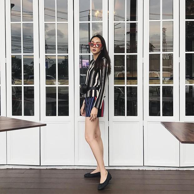 Hết Kendall Jenner, tới lượt sao và hot girl Việt thi nhau lăng xê mốt túi ngang hông - Ảnh 13.