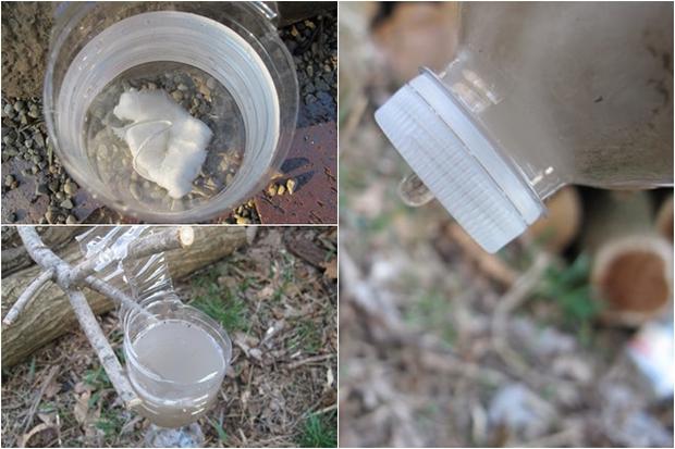 Lọc nước bằng băng vệ sinh - bí kíp sống còn khi bạn không có nước sạch để dùng - Ảnh 3.
