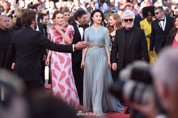 Thảm đỏ LHP Cannes: Phạm Băng Băng lộng lẫy như nữ hoàng, quyết cân dàn mỹ nhân quốc tế - Ảnh 10.