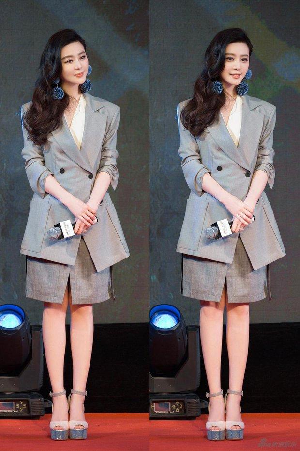 Hình ảnh đối lập: Triệu Vy tăng cân, ăn mặc tuềnh toàng, Phạm Băng Băng chất chơi với đồ hiệu đắt tiền - Ảnh 12.