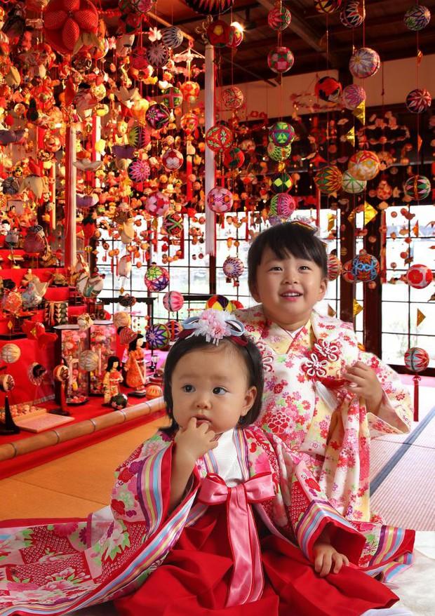 Ngày vui nhất của trẻ em Nhật Bản trong năm: Lễ hội búp bê toàn quốc - Ảnh 8.