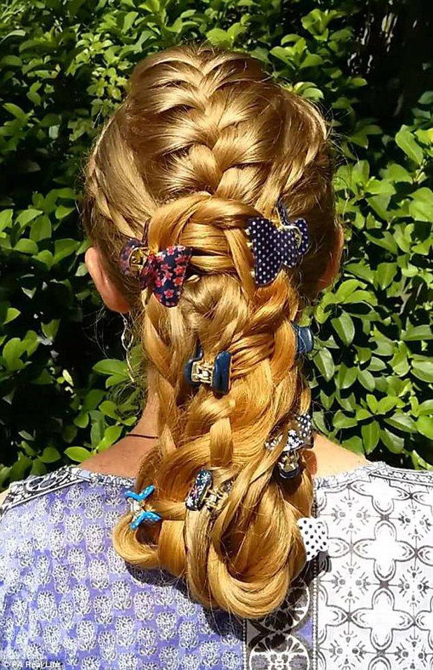 Công chúa tóc mây phiên bản đời thực với mái tóc dài hơn 1,6m - Ảnh 5.