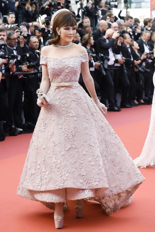 Lý Nhã Kỳ toả sáng lần cuối cùng với phong cách quý tộc tại thảm đỏ LHP Cannes - Ảnh 9.