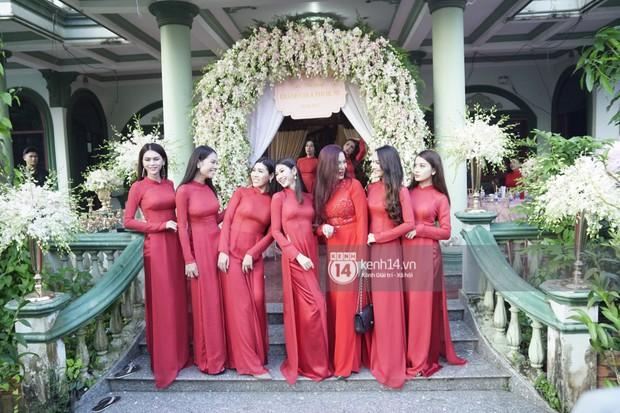 Clip độc quyền: Dàn phù dâu chuyển giới xinh đẹp gửi lời chúc mừng đám cưới đến công chúa Lâm Khánh Chi - Ảnh 2.