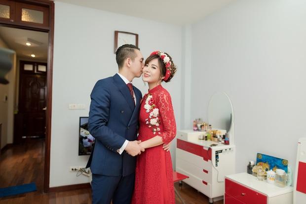 Tú Linh M.U và chồng hạnh phúc đến phát ghen trong lễ ăn hỏi - Ảnh 5.
