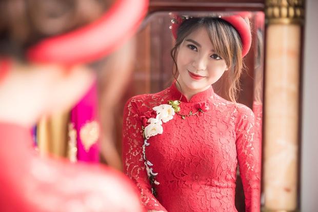 Tú Linh M.U và chồng hạnh phúc đến phát ghen trong lễ ăn hỏi - Ảnh 16.
