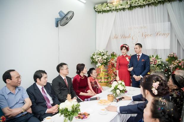 Tú Linh M.U và chồng hạnh phúc đến phát ghen trong lễ ăn hỏi - Ảnh 11.