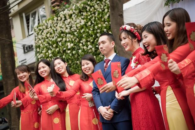 Tú Linh M.U và chồng hạnh phúc đến phát ghen trong lễ ăn hỏi - Ảnh 8.
