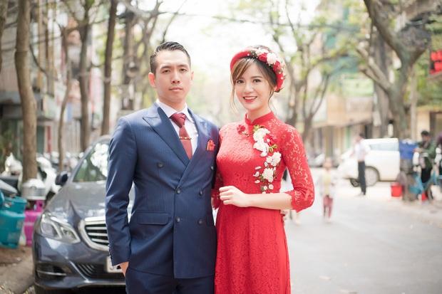 Tú Linh M.U và chồng hạnh phúc đến phát ghen trong lễ ăn hỏi - Ảnh 6.