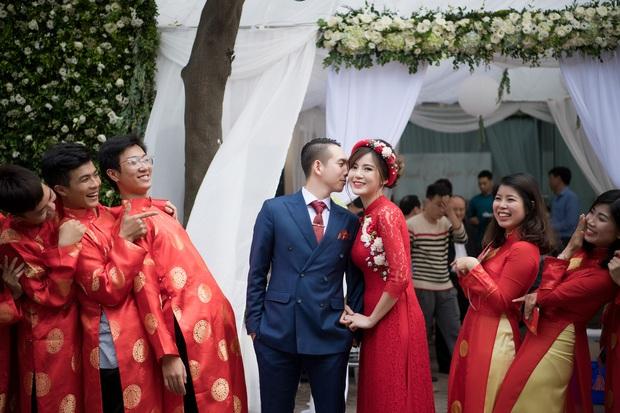 Tú Linh M.U và chồng hạnh phúc đến phát ghen trong lễ ăn hỏi - Ảnh 7.