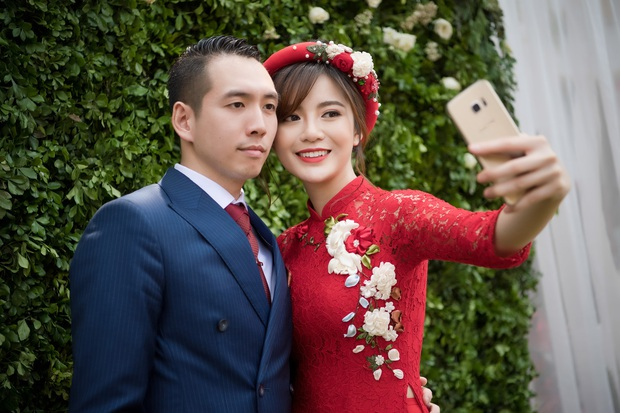 Tú Linh M.U và chồng hạnh phúc đến phát ghen trong lễ ăn hỏi - Ảnh 4.